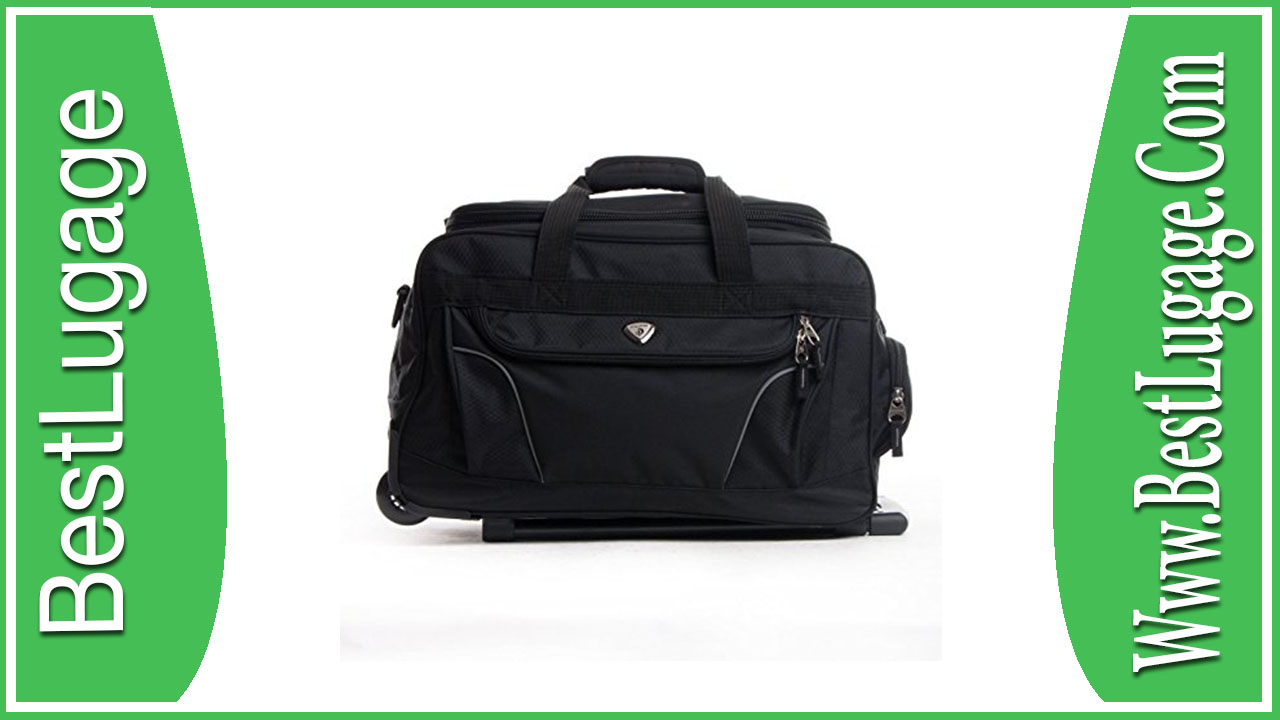 CalPak Champ 21-inch Carry On Rolling Upright Duffel Bag Review