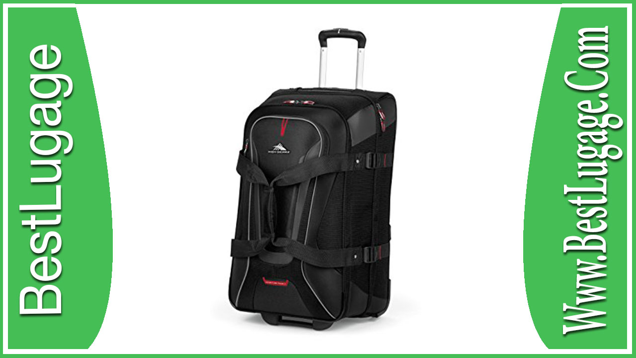 High Sierra AT7 Carry on Wheeled Duffel with Backpack Straps Review