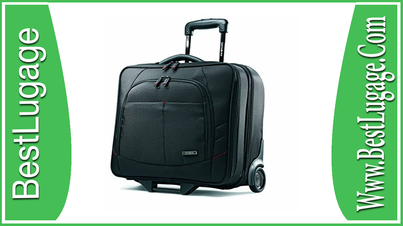 Samsonite Luggage Xenon 2 Mobile Office Review