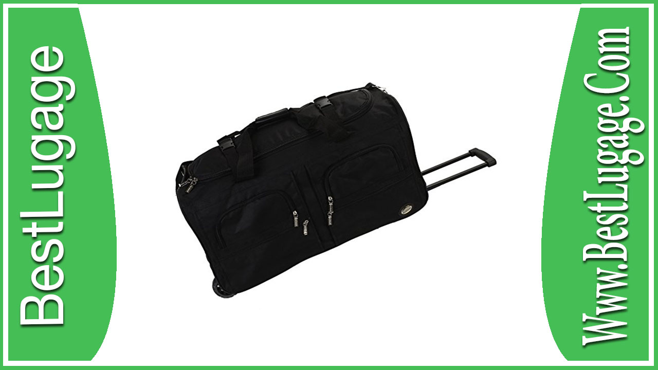 Rockland Luggage 30 Inch Rolling Duffle Review