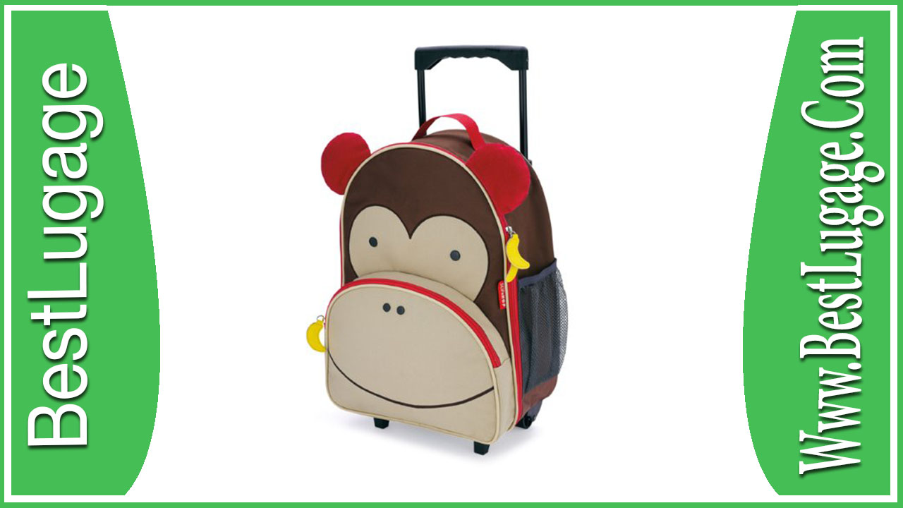 Skip Hop Zoo Little Kid Luggage Monkey Review