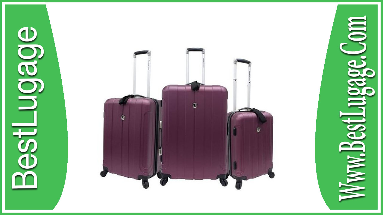 Traveler's Choice Cambridge 3 Piece Hardshell Spinner Set Review