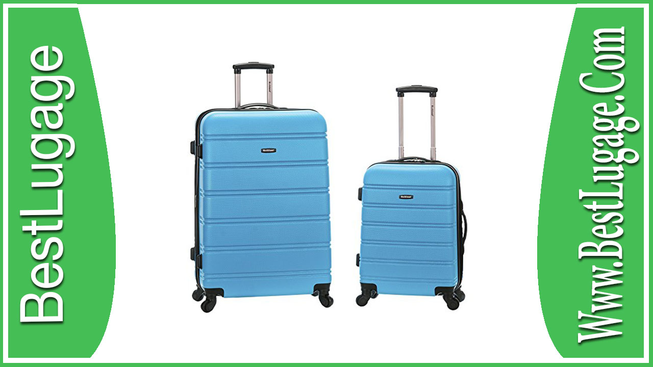 Rockland Luggage 20″ and 28″ 2 Piece Expandable Spinner Set Review