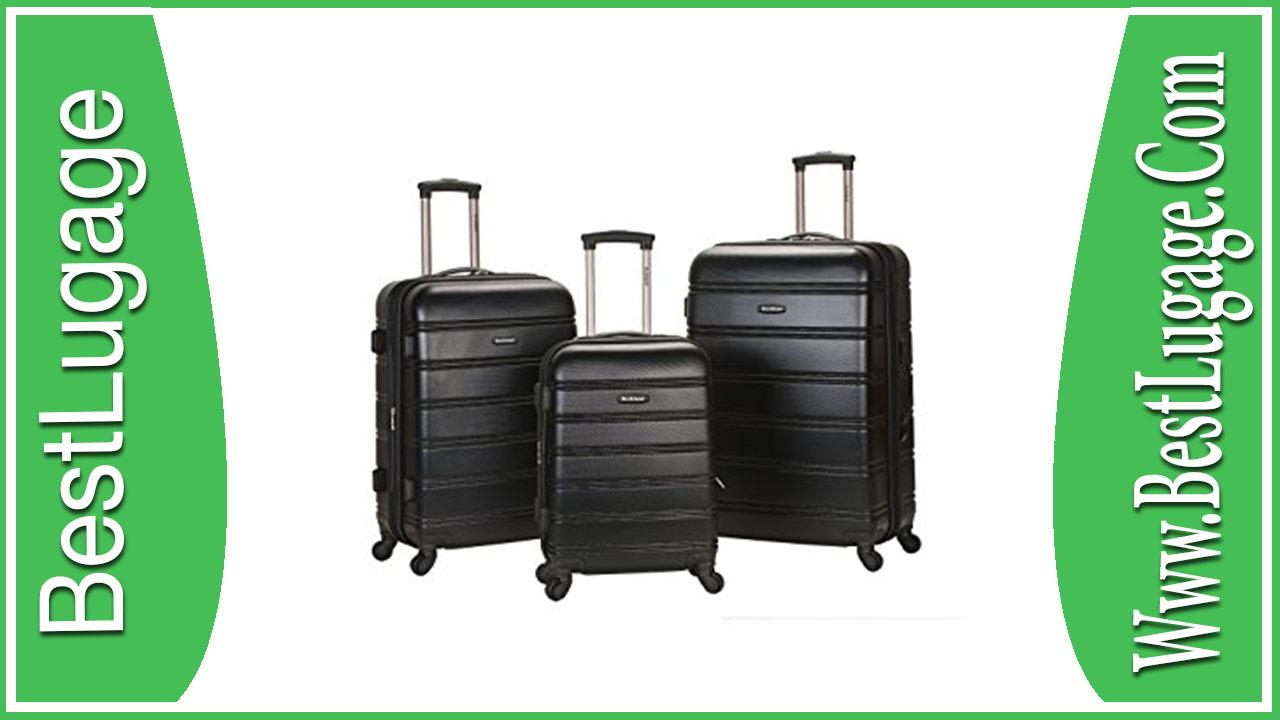Rockland Luggage Melbourne 3 Piece Set Review
