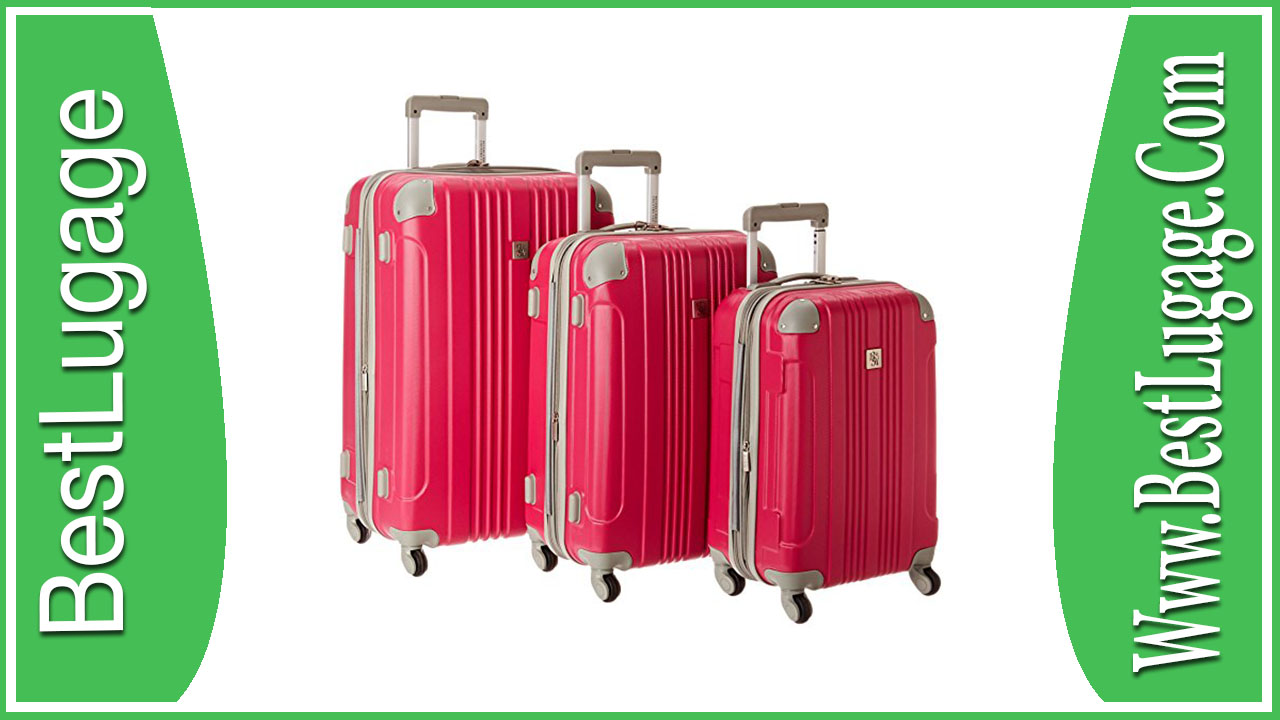 Beverly Hills Country Club Malibu 3 Piece Hardside Spinner Luggage Set Review