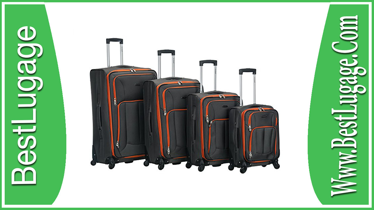 Rockland 4 Piece Impact Spinner Luggage Set Review