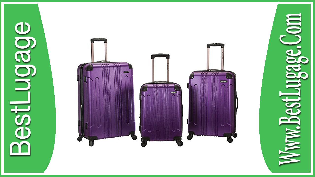 Rockland Luggage 3 Piece Sonic Upright Set Review