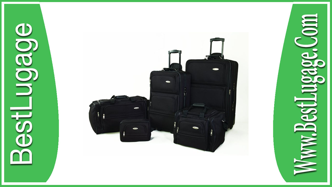 Clone of Samsonite 5 Piece Nested Luggage Set Review