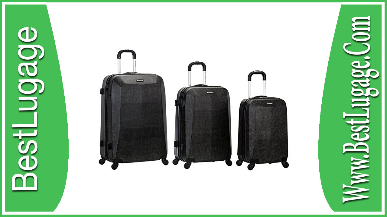 Rockland 3 Piece Vision Polycarbonate Abs Luggage Set Review