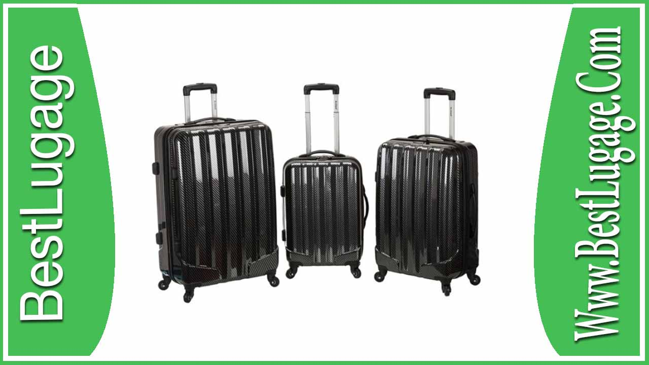 Rockland Luggage 3 Piece Metallic Upright Set Review