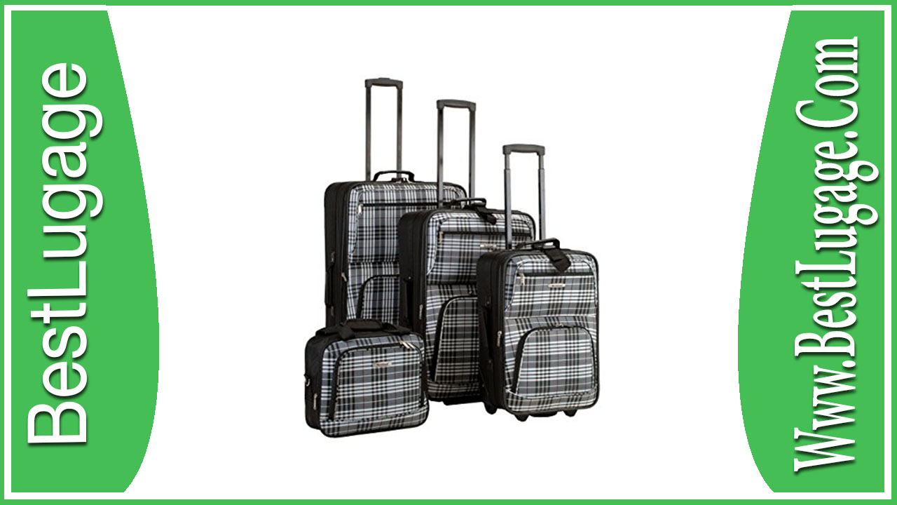 Rockland Luggage Four Piece Luggage Set Review
