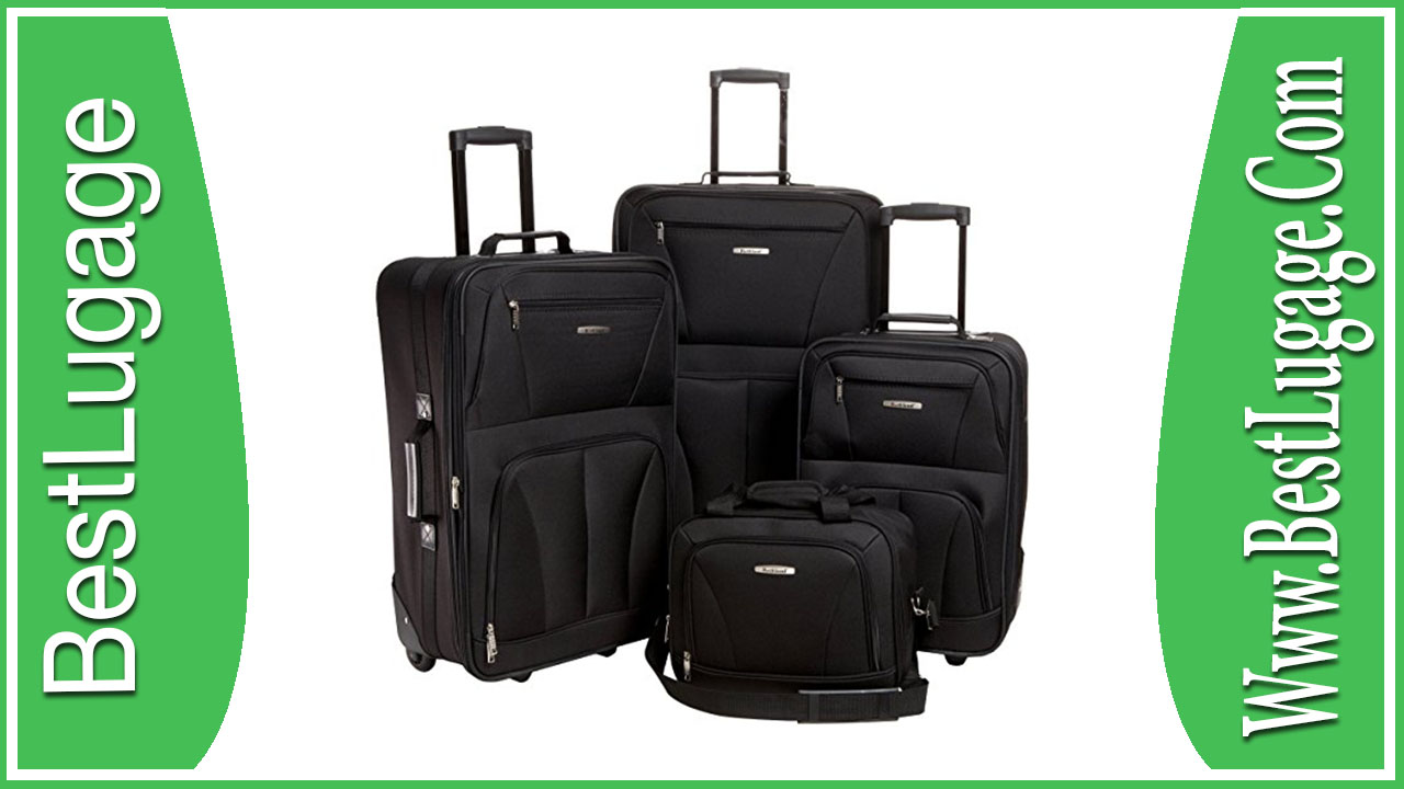 Rockland Luggage Skate Wheels 4 Piece Luggage Set Review